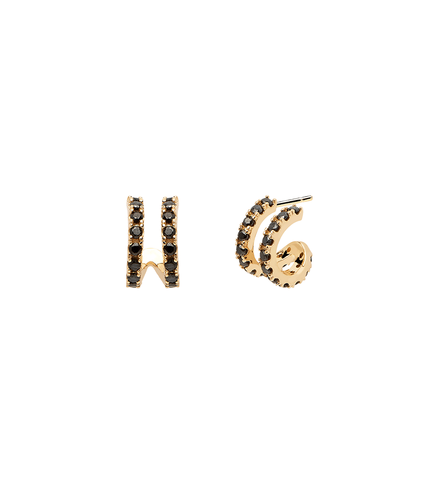 NIX Earrings Gold