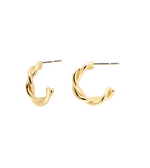 RODEO gold earrings