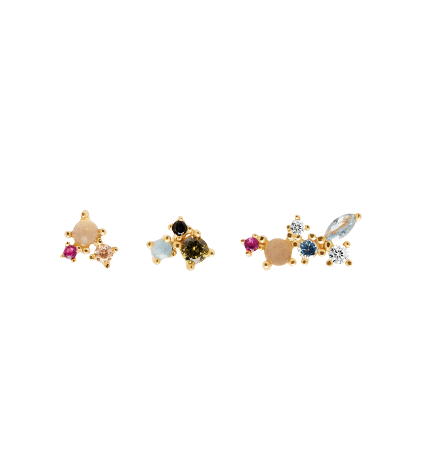 LA PALETTE Earrings gold