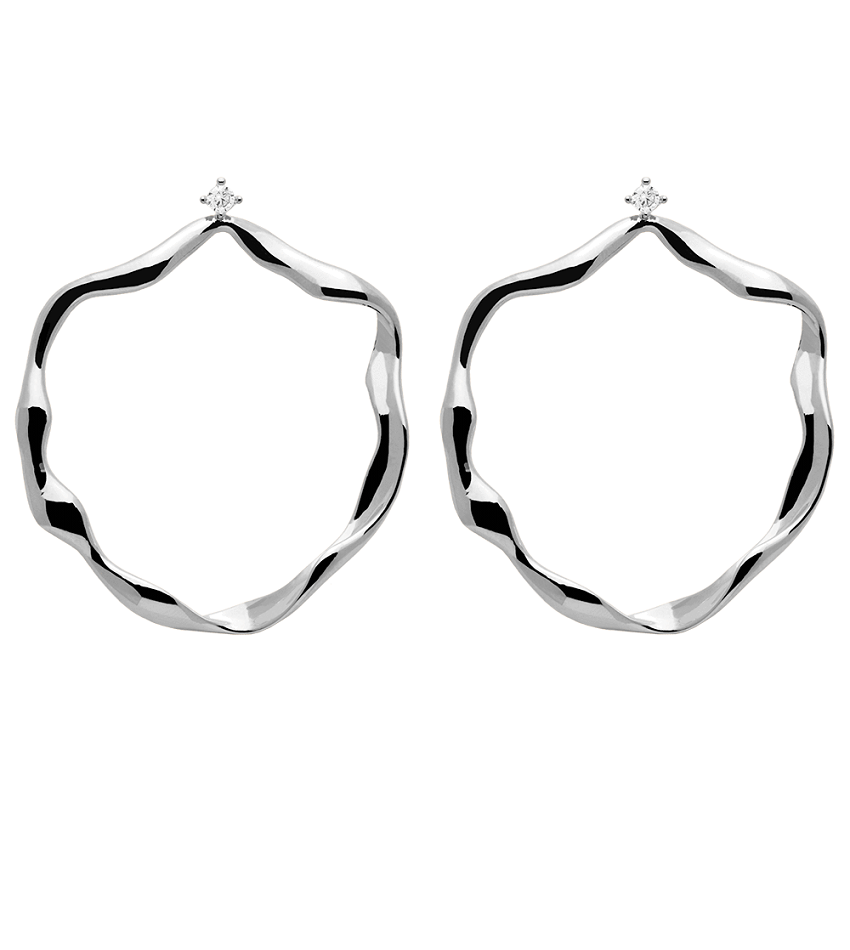 AKARI Earrings Silver