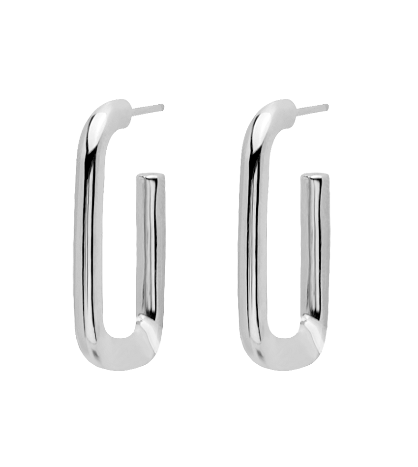 MUZE Earrings Silver
