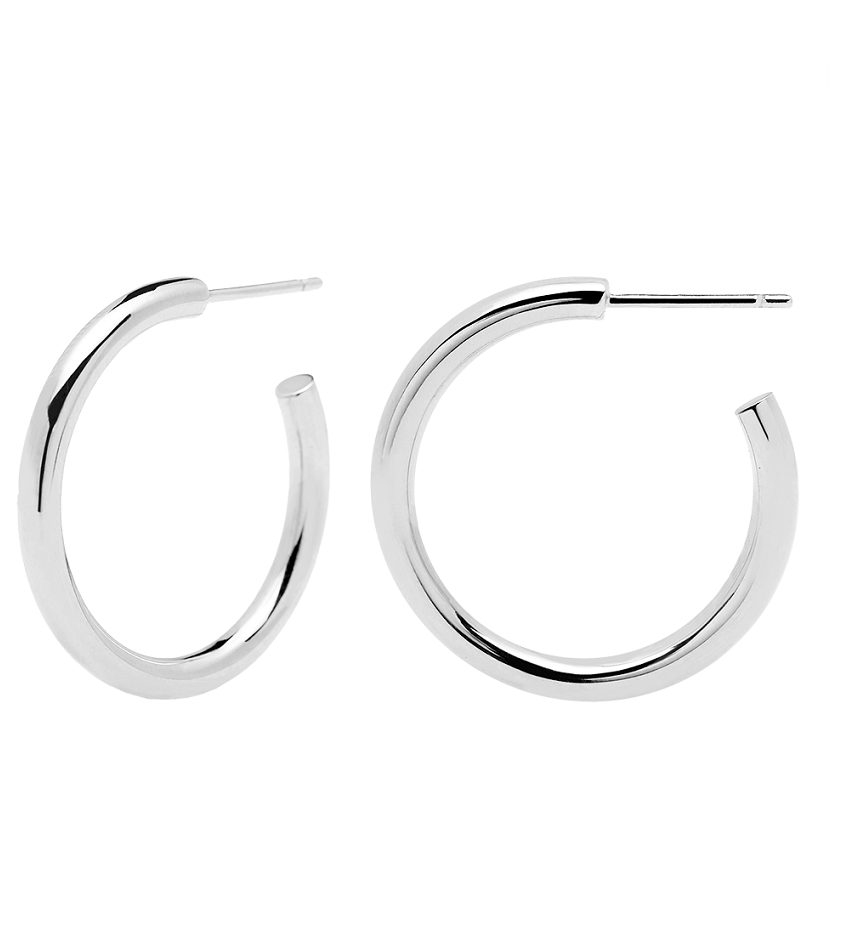 CORE Earrings Silver