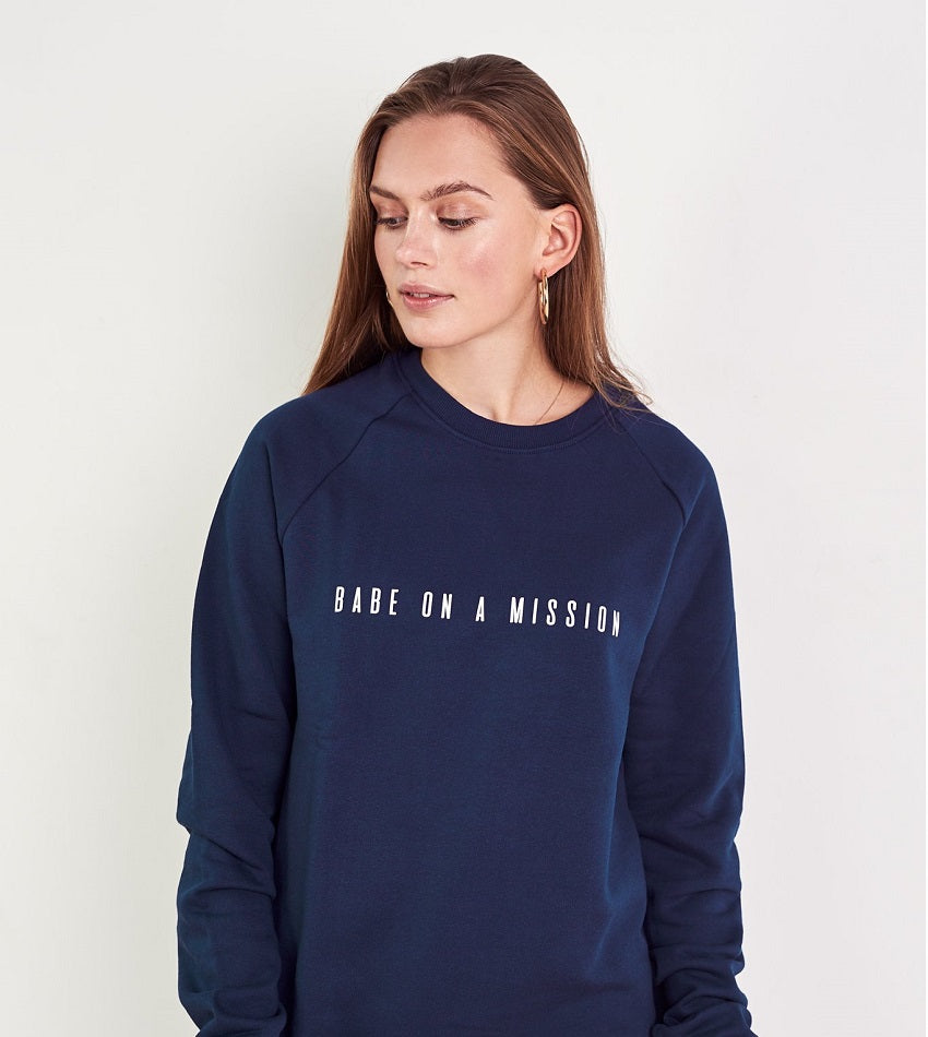 Babe On A Mission Jumper
