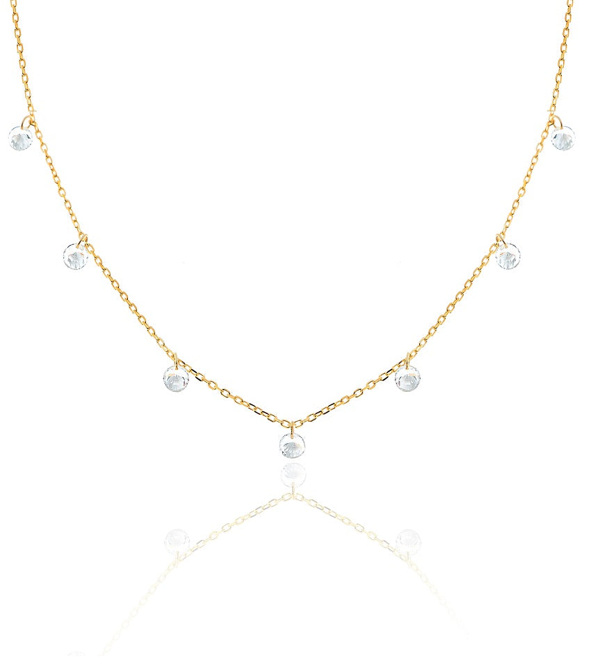 Diamond Gold Chocker
