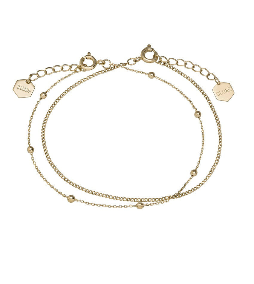 Essentielle Set of Two Fine Bracelets