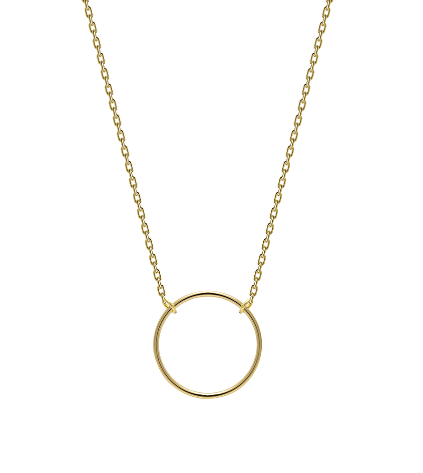 TURN Necklace Gold