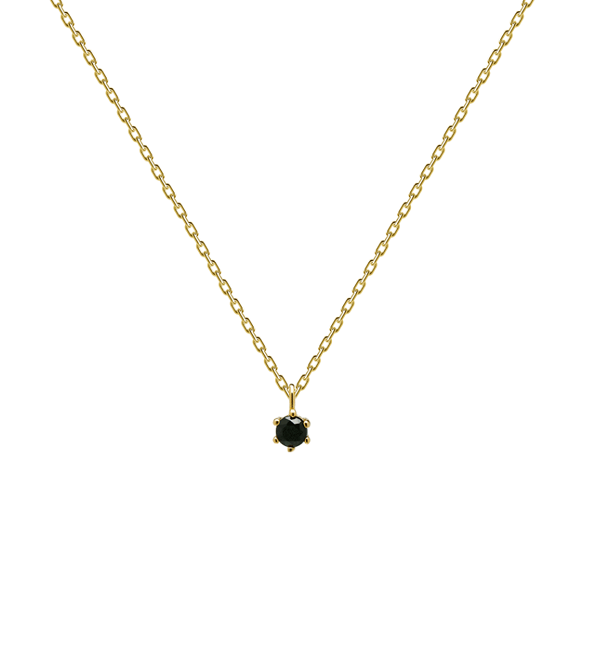 BLACK HOLIDAY Necklace Gold