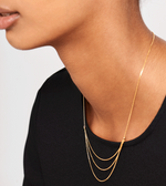 Nia Necklace gold