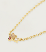 ROSE BLUSH Gold Necklace