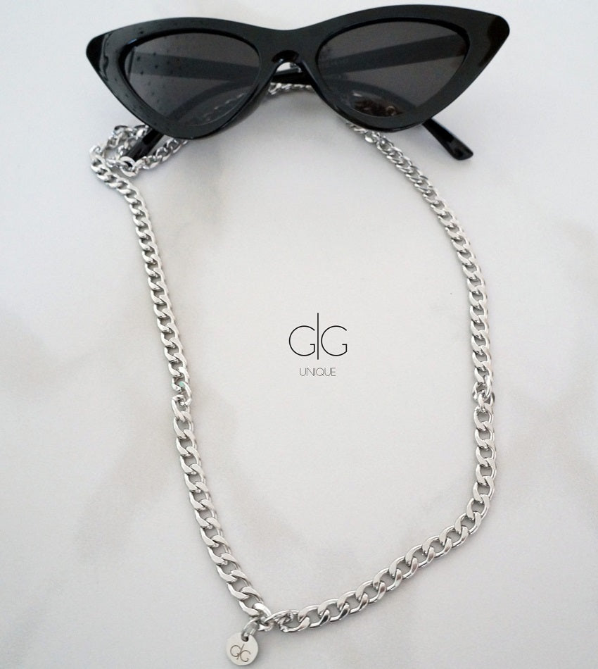 Stainless steel glasses chain
