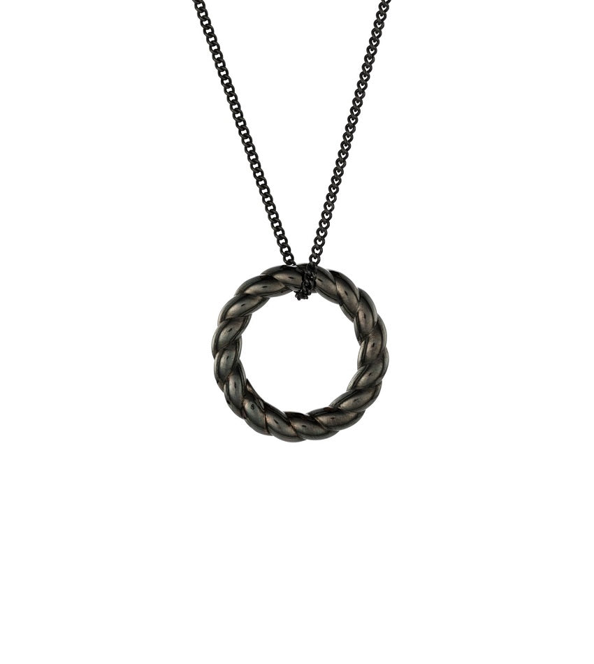 Dark And Twisty Necklace