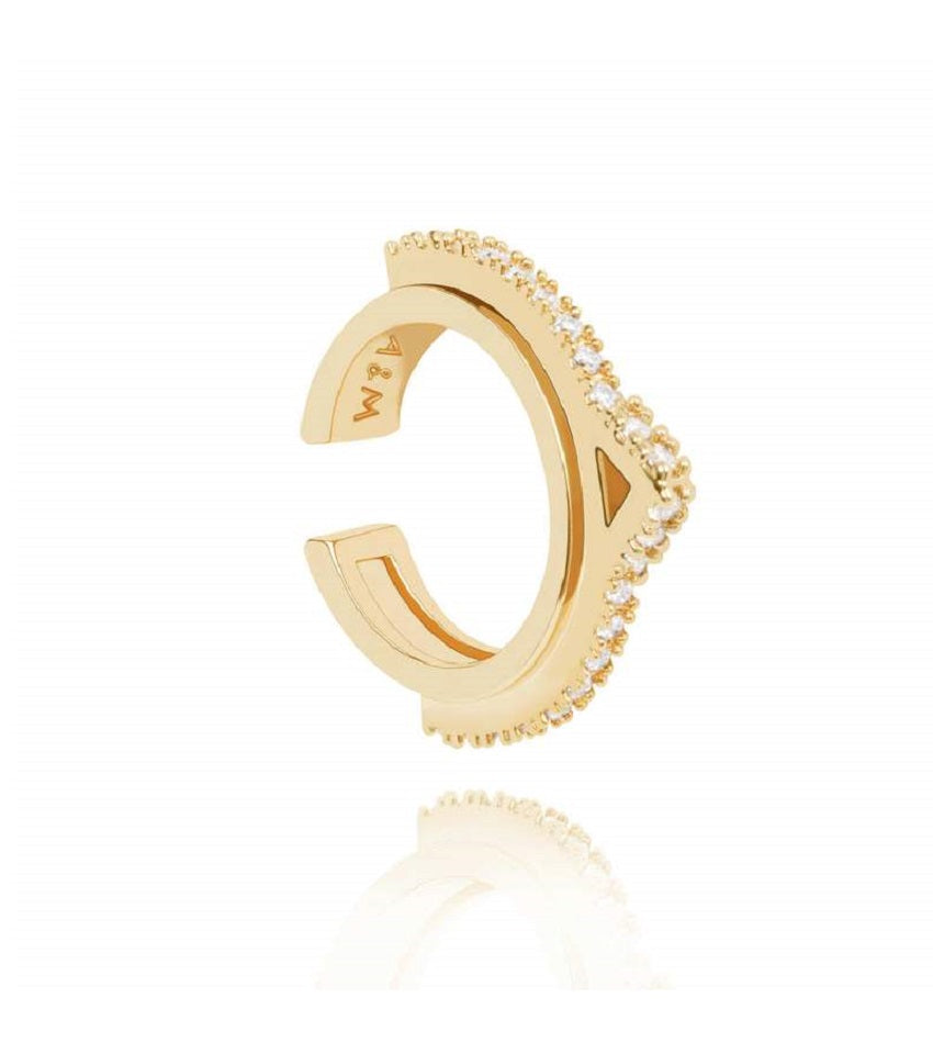 Fitzgerald Circle 2.0 Ear Cuff Gold