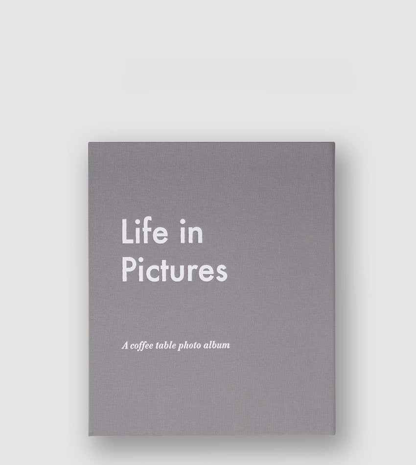 Photo Album - Life In Pictures Grey