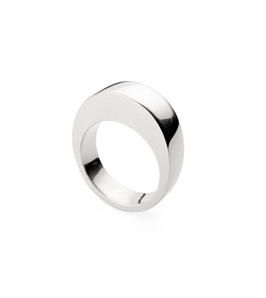 RING EDGE17 SILVER
