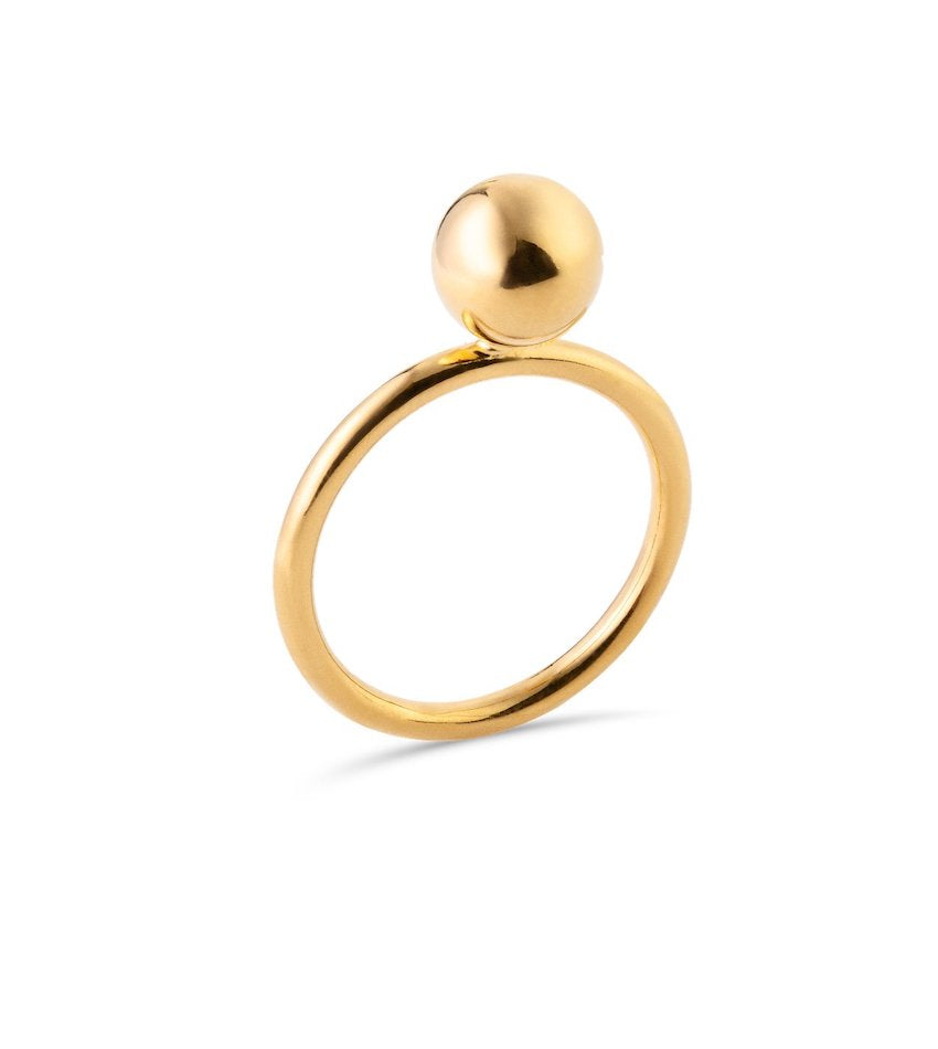 Maxi Bubble Ring Gold