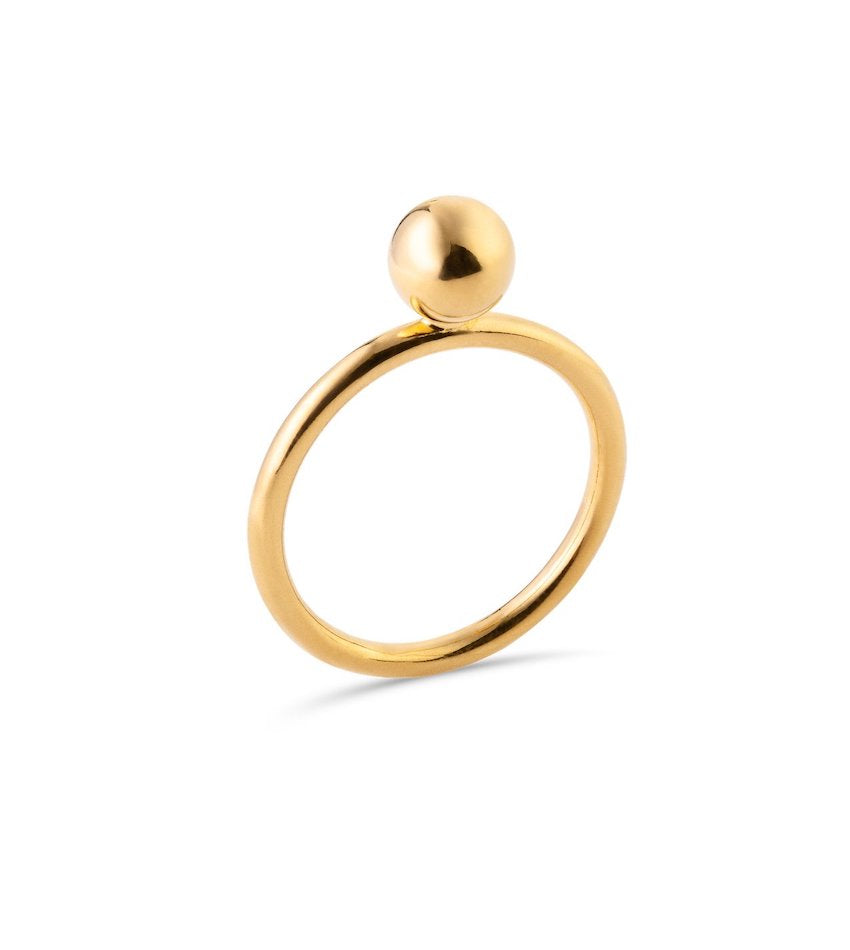 Midi Bubble Ring Gold