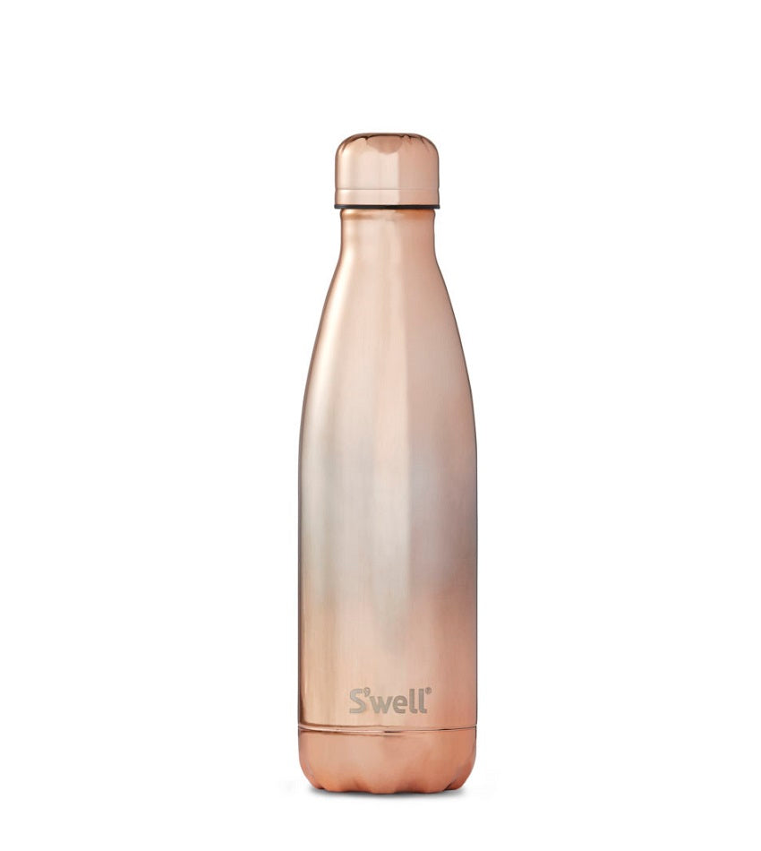 Metallic Collection Ombre Rose Gold Bottle
