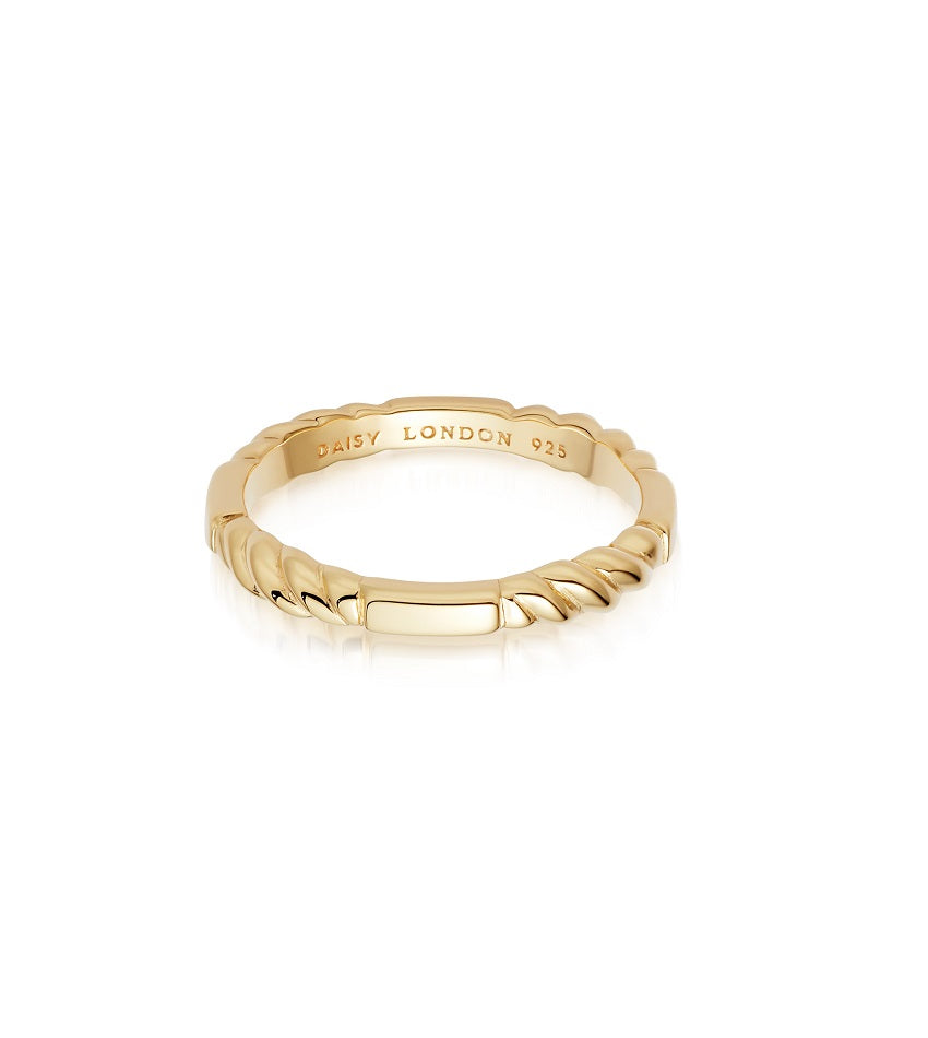 THIN STACKED RING GOLD