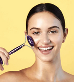 Skin Gym Amethyst 2D Texturized and Smooth Facial Roller