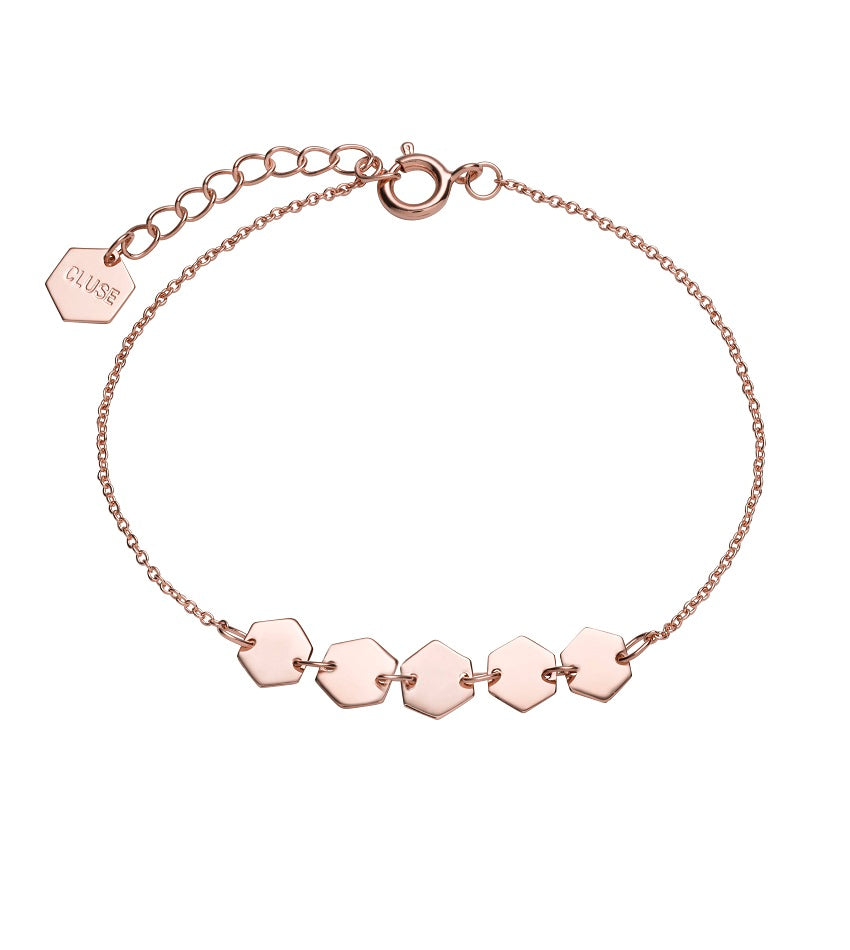 Essentielle Hexagons Chain Bracelet