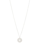 Compass 0102 Necklace Silver