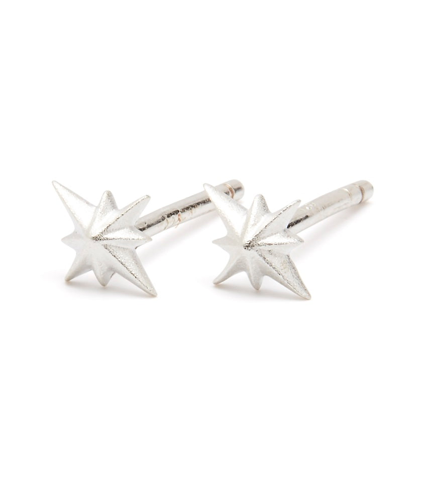 Compass 0301 Earring Silver