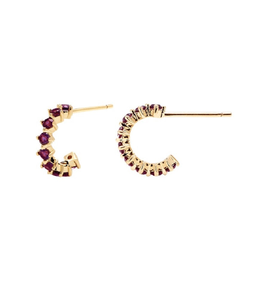 VIOLET BIRD Earrings Gold