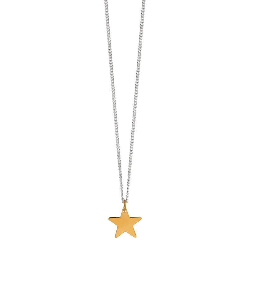 Star Necklace Gold