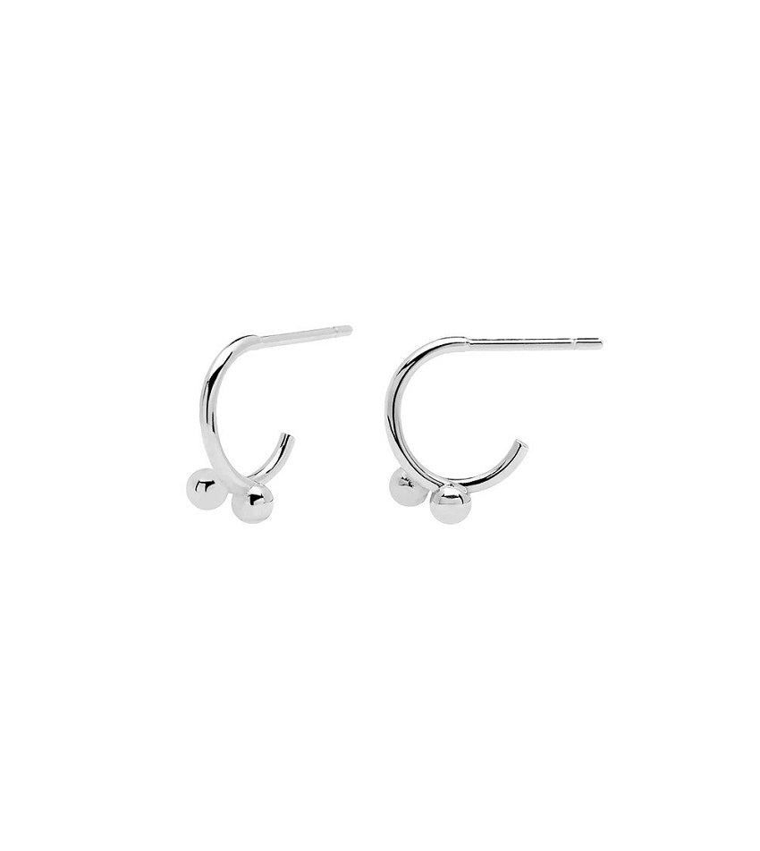 AURA Earrings Silver