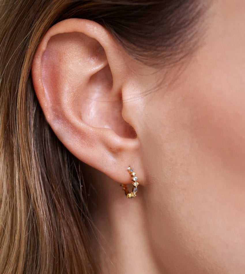 OMBRE Earrings gold