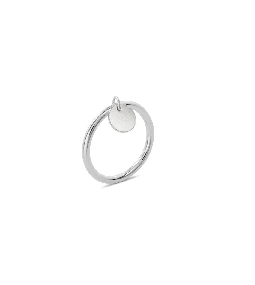 Shortie ring silver