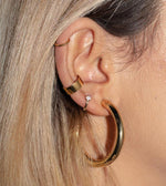 Boyfriend Simple Ear Cuff Gold