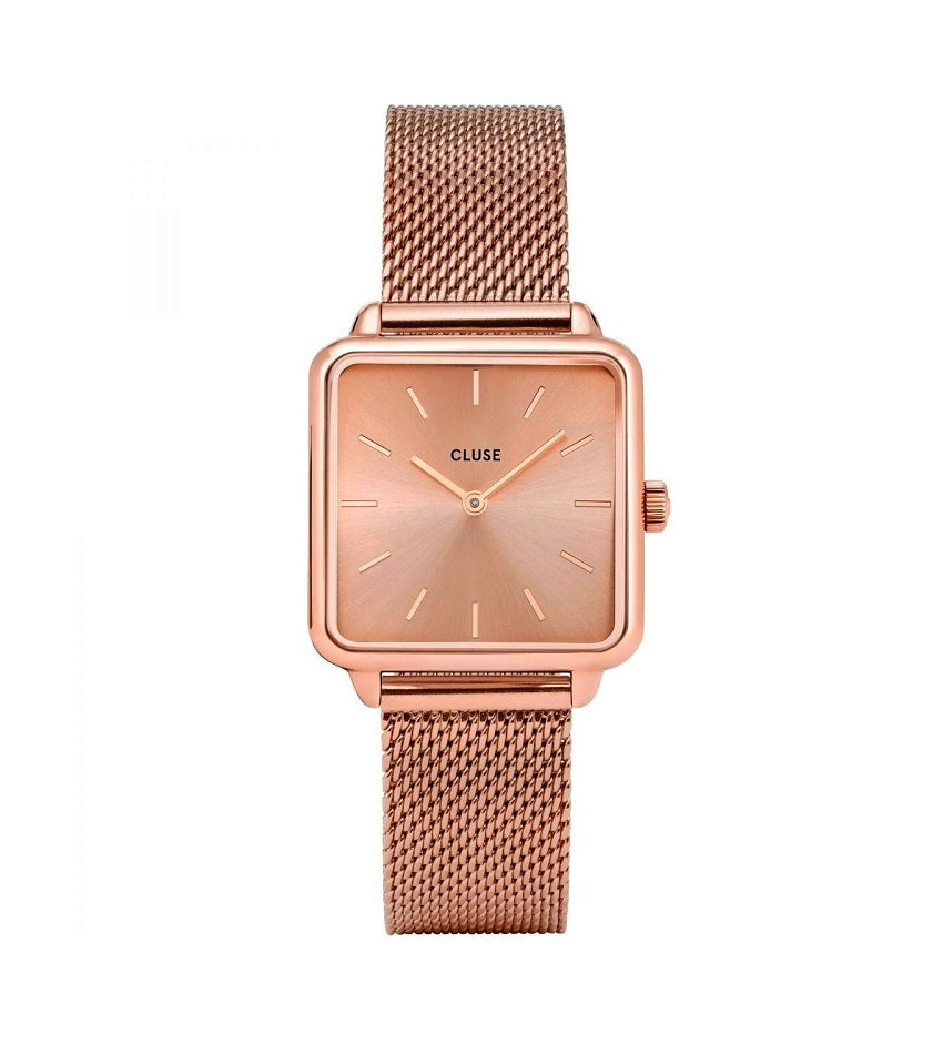 La Garconne Mesh Full Rose Gold