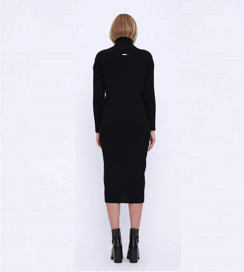 Luna Maxi Turtleneck Dress