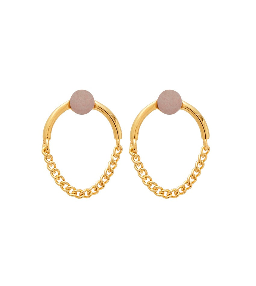 Microdot 0311 Earring Gold