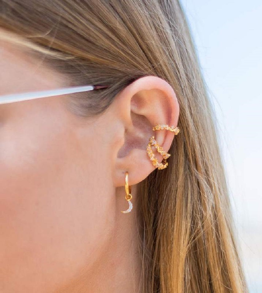 Mystic Star Ear Cuff Gold