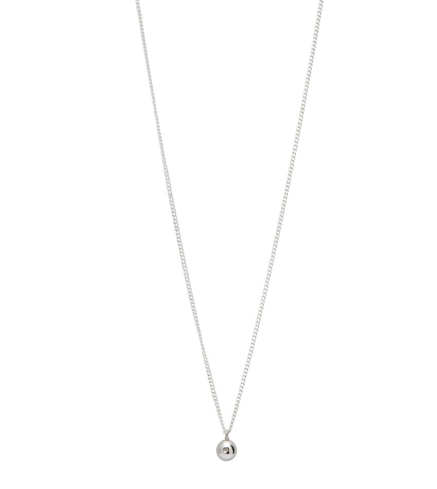 Raw Diamond 0102 Necklace Silver