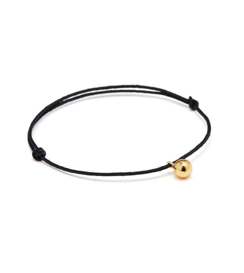 Raw Diamond 0201 Gold Bracelet
