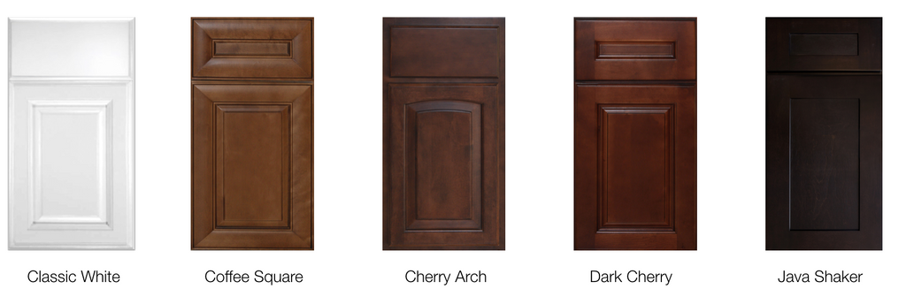 Traditional RTA Styles. Framed Heritage Cabinets