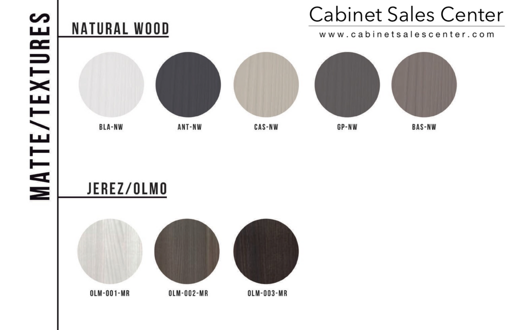 modern euro style matte wood textures