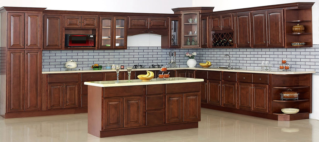 cherry arch Traditional RTA Cabinets cabinet sales center