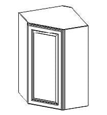 "27"" (Stack) Wall Diagonal Corner Cabinet - Platinum Line - Cabinet Sales Center"