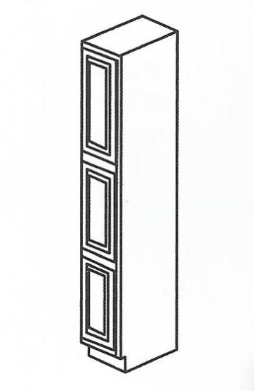 "24""Depth (2) Door Pantry(18"" W) - Platinum Line - Cabinet Sales Center"