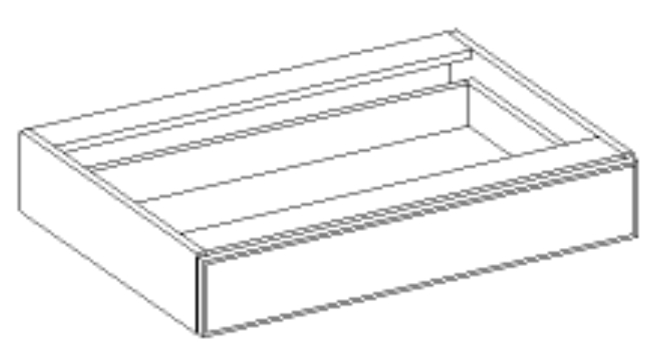 Vanity Knee Drawer - Traditional Line