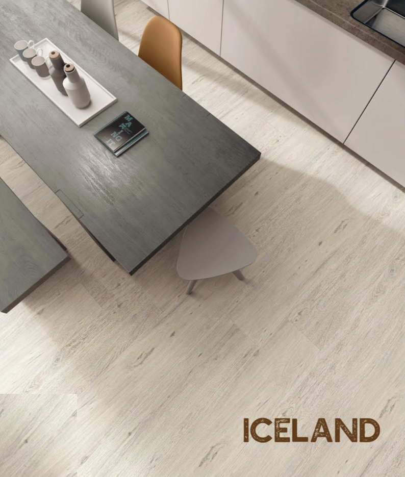 Rigid Core Waterproof Flooring, Iceland - Cabinet Sales Center