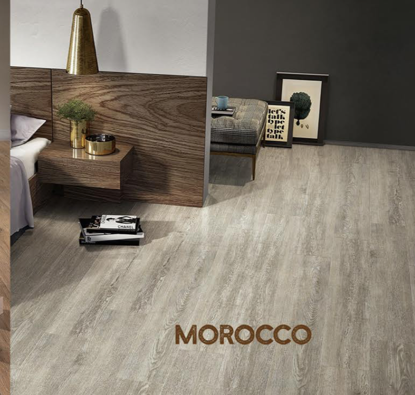 Rigid Core Wide Plank Waterproof Vinyl Flooring, Morocco - Cabinet Sales Center