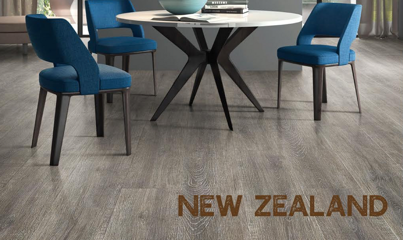 Rigid Core Wide Plank Waterproof Vinyl Flooring, New Zealand - Cabinet Sales Center