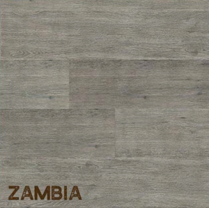 Rigid Core Waterproof Vinyl Flooring, Zambia Ash Gray - Cabinet Sales Center