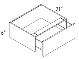 Vanity Knee Drawer - Modern Line