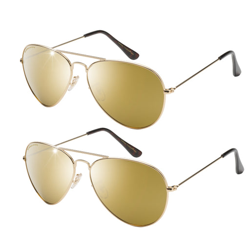 Eagle Eyes Aviator 2-pack Solglasögon